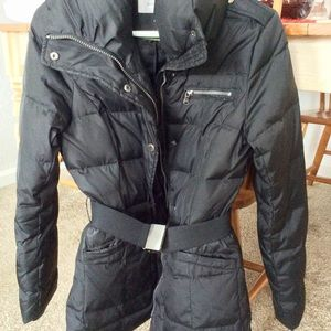 Winter Down Coat GUESS Like New! Black